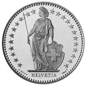 2フラン硬貨